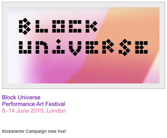 Block Universe performance festival